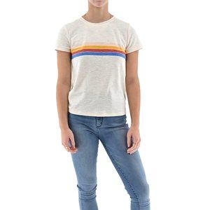 MADEWELL 4 Band Striped Short Sleeve T-Shirt #BE7